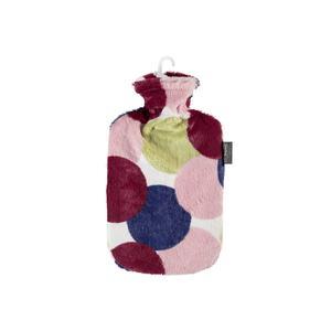 Wärmflasche Flauschbezug 2l im Punktdesign (67320 42)