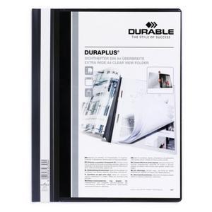 DURABLE Angebotshefter Duraplus Sichttasche schwarz (257901)