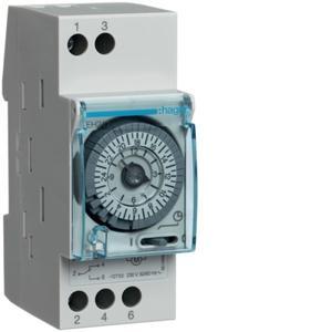 Zeitschaltuhr analog 1We 16A Tagesprogramm 230VAC 3TE
