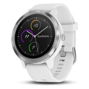 Garmin vivoactive 3 GPS-Smartwatch weiß/silber