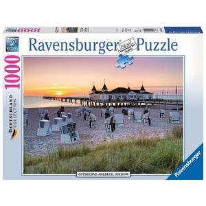 "Ravensburger Erwachsenenpuzzle ""Ostseebad Ahlbeck, Usedom"" 1.000 Teile ab 14 Jahre Puzzle von Ravensburger"