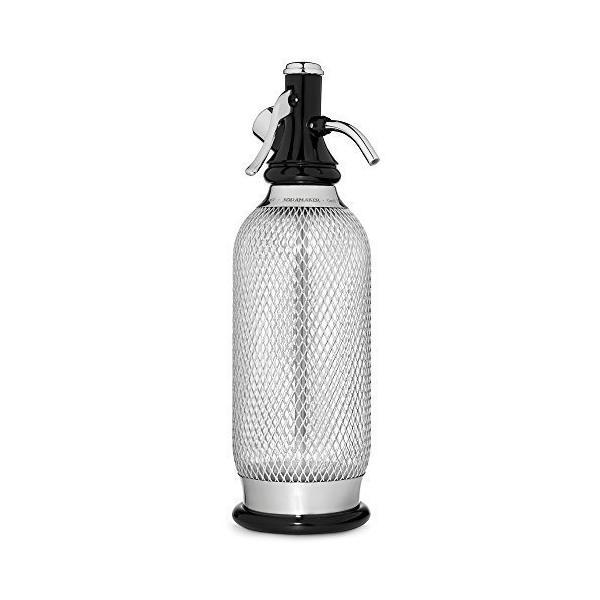 isi Soda Siphon silber Trinkwassersprudler