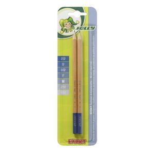 JOLLY, Bleistifte, Exakt Graphit, 2 Stifte