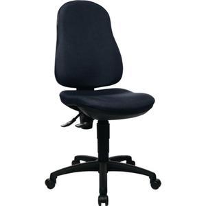 TOPSTAR Bürodrehstuhl mit Permanentkontakt schwarz 420-550 mm ohne Armlehnen Tragfähigkeit 110 kg