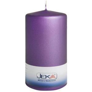 Jeka Kerzen Stumpen Velvet 70x150mm (PFLAUME)