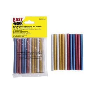 Multipack EASY WORK EW Mini-Klebesticks 12 Glitzer () - 12 Stück