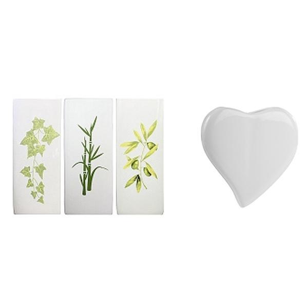 Flachverdunster Keramik Wild Flowers 250 ml 21x8,5x3,5cm sortiert (11397)