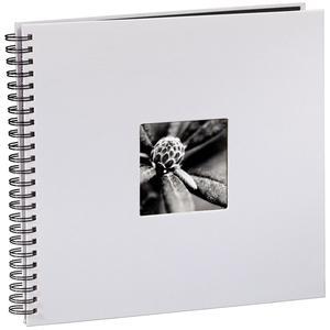 Hama Fine Art kreide 36x32 cm, Spiralalbum mit 50 schwarzen Seiten