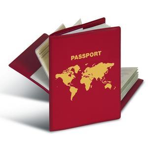 Herma RFID-Schutzhülle Reisepass 1 Hülle mit 2 Innentaschen 5549N
