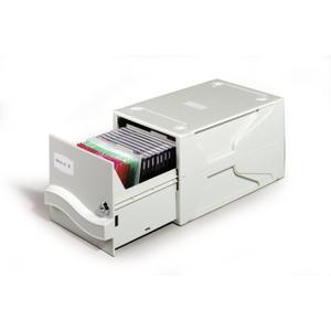 DURABLE MULTIMEDIA BOX L 195x165x325mm grau (525610)