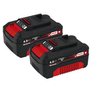 Einhell 4511489 PXC-Twinpack 4,0 Ah Akku