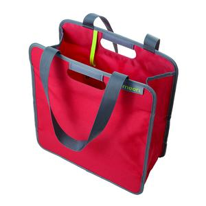 Meori Faltbare Einkaufstasche M Hibiskus Rot (A100706)