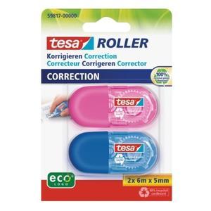 tesa Roller Korrigieren ecoLogo in 2 Farben Blister (59817-00000-00)