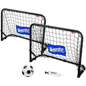Best Sporting, Mini Fußball-Set, SCHWARZ, BLAU,, 4 Teile, 11089