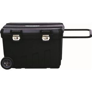 STANLEY Montagebox fahrbar B770xT490xH480 mm Kunststoff Vertiefungen im Deckel