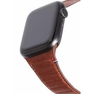 Decoded 42/44 mm Lederarmband mit Schlaufe für Apple Watch Series 2/3/4/5, braun