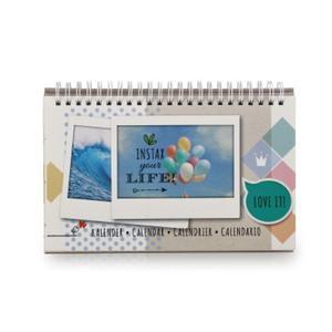 Fujifilm Instax WIDE Kalender Dauerkalendarium für 13 Bilder