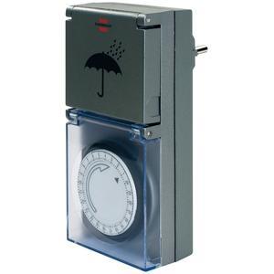 Mechanische Zeitschaltuhr Brennenstuhl MZ 44 IP44 grau (1506460)