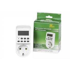 TS-ELECTRONIC Zeitschaltuhr Digital 12 h- oder 24 h-Anzeige wählbar ()