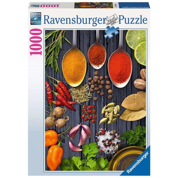 """Ravensburger Erwachsenenpuzzle """"Allerlei Gewürze"""" 1.000 Teile ab 14 Jahre Puzzle von Ravensburger"""