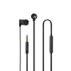 Nedis Kopfhörer mit Kabel / 3.5 mm / Seillänge: 1.20 m / Eingebautes Mikro / Lautstärke-Regler