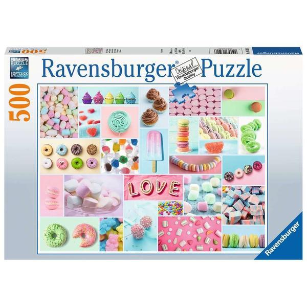 """Ravensburger Erwachsenenpuzzle """"Süße Verführung"""" 500 Teile ab 14 Jahre Puzzle von Ravensburger"""