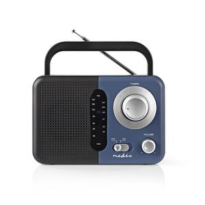 Nedis Radio Portable UKW RDFM1300BU