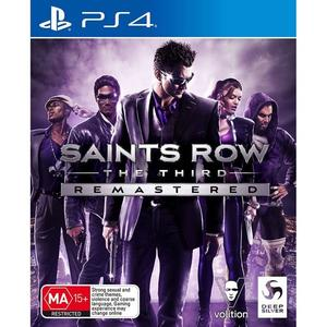 Saints Row The Third Remastered (PS4) Englisch