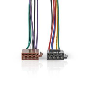 Nedis ISO-Adapter-Kabel / Standard / 0.20 m / rund / PVC / Plastikbeutel
