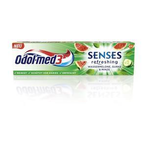Odol-med3, Senses Zahncreme (WASSERMELO)