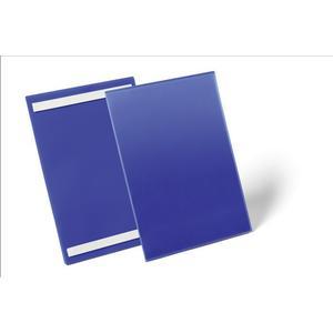 DURABLE Etikettentasche B210xH297mm blau selbstklebend