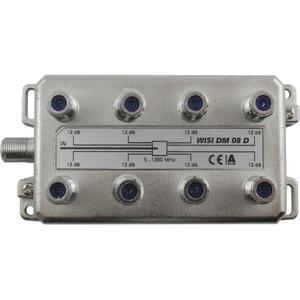 WISI 8-fach F-Verteiler 5-1300 MHz