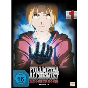 Fullmetal Alchemist: Brotherhood - Volume 1: Folge 01-08 (2 DVDs)