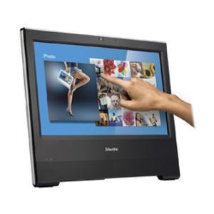 SHUTTLE XPC AIO POSX506 Celeron 3865U 4GB 120GB SSD schwarz (POS X506 BLACK)