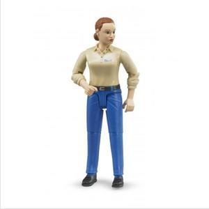bruder Frau mit hellem Hauttyp und blauer Hose (30914899)