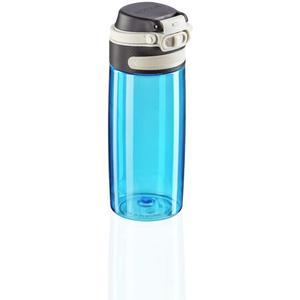Leifheit Trinkflasche Tritan Flip550ml wasserblau (003266)