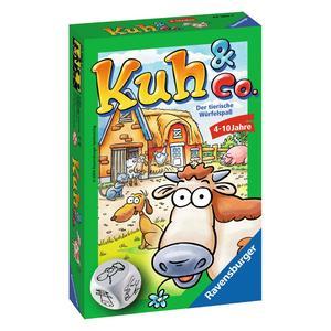 """Ravensburger Mitbringspiele """"Kuh & Co."""" 4 - 10 Jahre Spaß & Action Spiele von Ravenburger"""