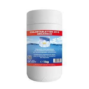 Seerose, Super Chlor Langzeittabs 20g 1kg
