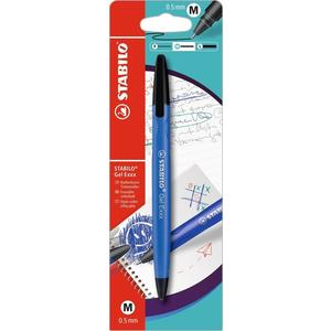 Stabilo, Radierbarer Tintenroller, Gel Exxx, 0,5 mm (M) (BLAU)