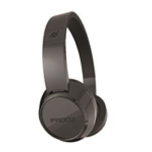 ifrogz Audio Coda Bluetooth On-Ear Kopfhörer, schwarz