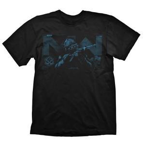 Call of Duty Modern Warfare T-Shirt Blue Target Black L Englisch