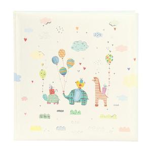 Goldbuch Animal Parade 30x31cm Babyalbum 60 weiße Seiten