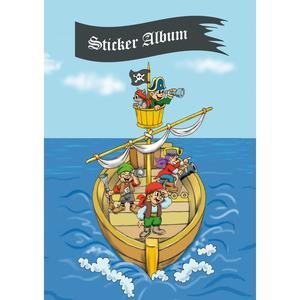 HERMA Sticker Sammelalbum für Kids Piratenabenteuer A5 (15417)