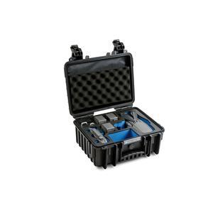 B&W Copter Case Type 3000 B schwarz mit DJI Mavic 2 Inlay