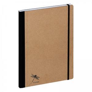 PAGNA Notizbuch A4 Pur 192S kariert natur 1Stk (26087-11)