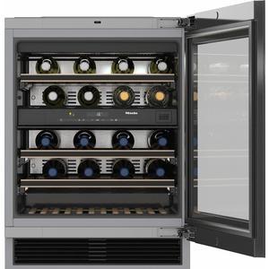 Miele KWT 6322 UG Unterbau-Weintemperierschrank Glastür (09138040)