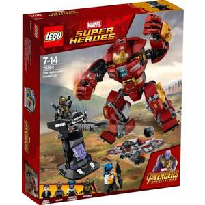 LEGO®, Zerstörung des Hulkbuster 76104, Marvel Super Heroes™, 7x16x14 cm, 354 Teile, 76104