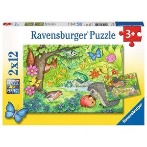 """Ravensburger Kinderpuzzle """"Tiere in unserem Garten"""" 12 Teile ab 3 Jahre Puzzle von Ravensburger"""
