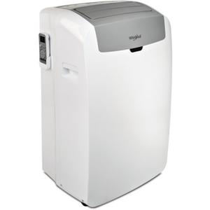Mobiles Klimagerät Weiß/Grau Kühlen und Heizen