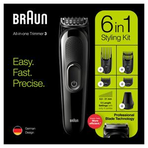 Braun MultiGroomingKit MGK3225 Bartschneider Haarschneider Trimmer